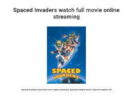 Spaced Invaders Watch Full Movie Online Streaming