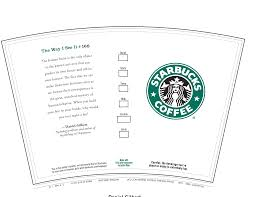 starbucks coffee bag template. Beautiful Bag 6 Best Images Of Printable Starbucks Coffee Cups  Gift  Card Cup  With Bag Template M