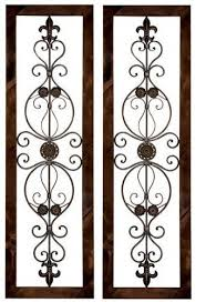 excellent inspiration ideas metal wall decor great 18 best tuscan image on wrought iron