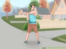 image led be motivated to exercise step 1