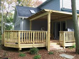 diy wood deck railing ideas