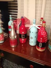 12 Amazing Wine Bottle Christmas Crafts  Bottle Holidays And Wine Bottle Christmas Crafts