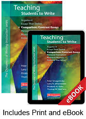 teaching students to write comparison contrast essays print ebook teaching students to write comparison contrast essays print ebook bundle