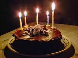 happy birthday chocolate cake with candles. Delighful Chocolate Happy Birthday Chocolate Cake With Candles For C
