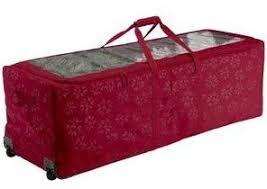 Christmas Tree Storage Bag on Wheels