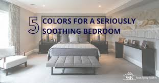 colors for a seriously soothing bedroom
