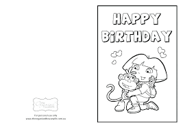 Free Happy Birthday Coloring Pictures Balloons Color Party Pages For