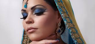 arabic bridal eye makeup tutorial with deled steps and pictures