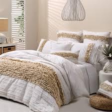 clovelly quilt cover set linen super king