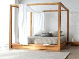 King Bed Frame With Storage Black Platform Plans Antique Chestnut ...