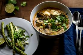 Coconut Curry Seafood Chowder with ...