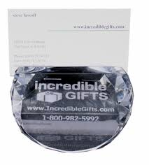 Glass Engraved Business Card Holder Place Card Holder At Incrediblegifts