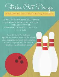 Bowling Event Flyer Support An Event