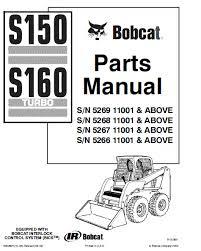 bobcat s150 parts diagram diagram bobcat s150 s160 skid steer loader parts manual pdf spare