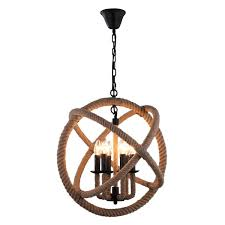 journee lighting. Journee Home \u0026#x27;Ouija\u0026#x27; 14 In Hard Wired Hemp Rope Lighting I