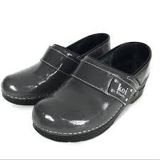 Sanita Shoe Size Chart Sanita Koi Patent Leather Clogs Size 36