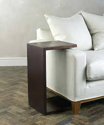 slide in side table over couch arm rests the sofa