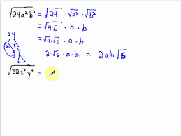 simplifying radical expressions with variables