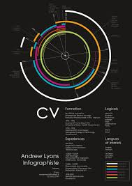 visual infographic resume examples com circle resume by lyons