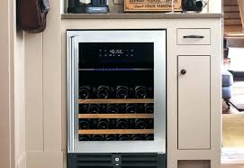 best wine fridge under counter height