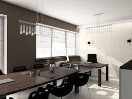 modern interior office stock. Download 3D Render Modern Interior Of Office Stock Illustration - Black, Monitor: