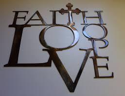 iron wall cross love:  s l