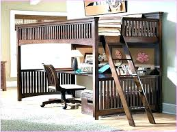 full size bunk bed with desk. Full Size Loft Bed With Desk For Adults Queen Bunk