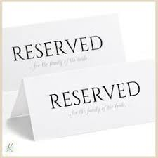 reserved sign templates free printable reserved sign tent basic no design
