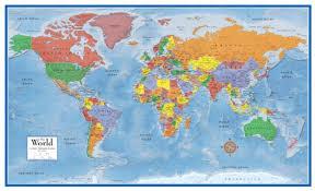 ikea world map canvas print