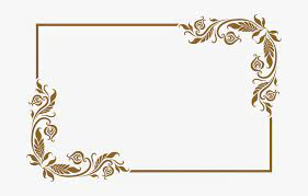 border frame design png transpa