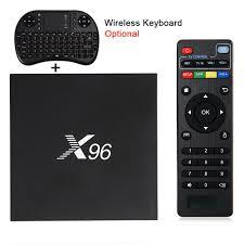 X96 Android 6.0 TV Box Amlogic S905X Max 2GB RAM+16GB ROM Quad Core WIFI  HDMI 4K*2K HD Smart Set Top BOX Media Player PK A95X | Tv, Android tv, Android  tv box
