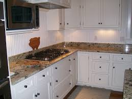 Wainscoting Kitchen Backsplash Bathroom Backsplash Ideas With White Cabinets Beadboard Home