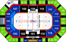 Ice Box Seating Chart Lincoln Ne Ice Garden