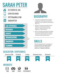 Extraordinary How To Make An Infographic Resume Sensational Design