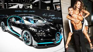 Juventus superstar football player cristiano ronaldo shows off his new luxury car, bugatti centodieci 110, after winning the championship of serie a. Bugatti Veyron Cristiano Ronaldo 2019