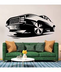 wallskart vintage car vinyl wall stickers