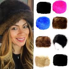 Valenki, russian russian civil war, brought a popular russian fur hat, ushanka (originally kolchakovka). New Ladies Womens Glamorous Faux Fur Russian Cossack Hat Winter Warm Cap Fashion Ebay