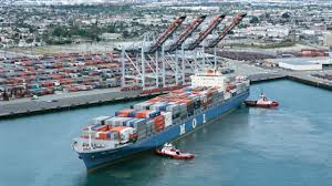 port company color chart port of los angeles reports overall gains of 10 in first