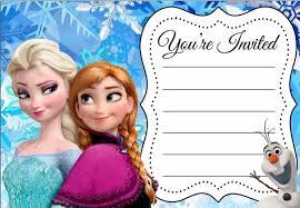 Printable Disney Invitations Invitation Card Ideas