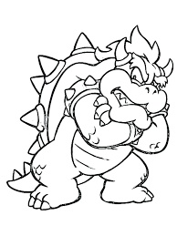 Lively Free Printable Mario Coloring Pages R1075 Glamorous Free