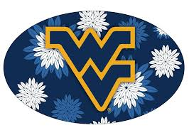 Floral Design Schools In Virginia Amazon Com West Virginia Mountaineers Oval Floral Design