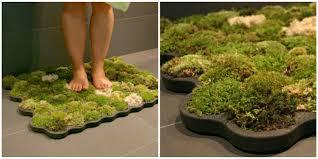 Moss Mats Moss Bath Mat Adds Nature To Your Bathroom How To Make Diy Moss