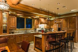 Log Cabin Kitchen Decor Kitchen Room Log Home Kitchen The Home Touches Log Home Kitchen