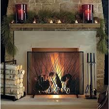 wood fireplace screen openpoll me