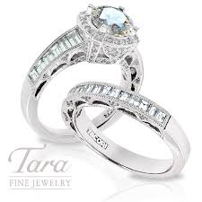 tacori diamond enement ring 1 35ct tdw wedding band 65ct tdw in platinum center stone sold separately tara fine jewelry
