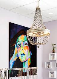 malia chandelier by feiss