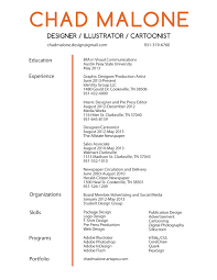 Resume For Graphic Design On For Clients Looking For Visually