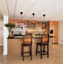 Small Kitchen Bar Kitchen Small Design With Breakfast Bar Cabin Home Office