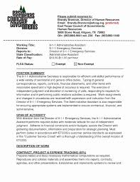 Executive Secretary Resume Template Luxury Administrative Assistant