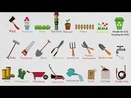 garden equipment names of garden tools